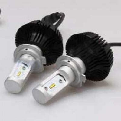 Комплект LED ламп в основные фонари серии G7 Цоколь Н7, 24W, 4000 Люмен/Комплект