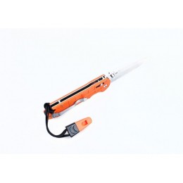 Нож Ganzo G7452P-WS (черный, оранжевый)