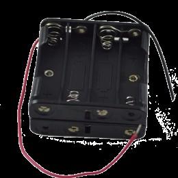 Кассета для 8 батареек типа ААA куб