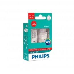 Светодиодные лампы W21/5W Philips 11066ULRX2 Ultinon LED (Red)
