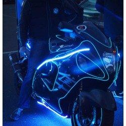 Светодиодный свет для  мотоциклов, мопедов, квадроциклов,  а так же освещение холодным неоном и