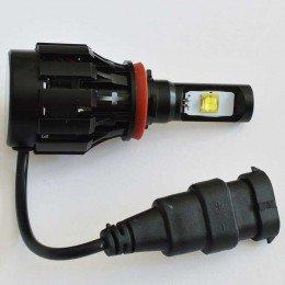 Комплект светодиодных ламп в основные фонари под цоколь H11/H8 Cree 30W 3500 Люмен/Комплект