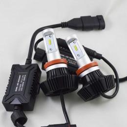 Комплект LED ламп в основные фонари серии G7 под цоколь Н11/H8/H9 24W 4000 Люмен/Комплект