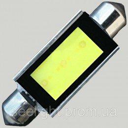 Светодиодная автомобильная лампа в подсветку автомобиля SV8,5(C5W)-39mm-3W-COB