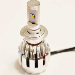 Комплект светодиодных ламп в основные фонари под цоколь Н7 20W 2600 Люмен/Комплект