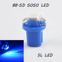 LED лампа в подсветку приборной панели, цоколь B8.5D SL LED синий