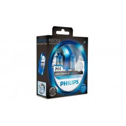 Галогенная лампа H4 12342CVPBS2 ColorVision голубой